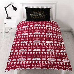 cCharacter world 100 por cientoJuego de cama, polialgodón, Star Wars episodio 7, es probable que juego de funda de edredón y almohada, mMulti-color