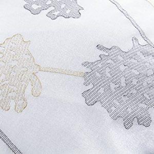Janet blanco de lujo floral bordado 180 hilos percale cubierta del edredón y fundas de almohada (Matrimonio - 200 x 200cm)