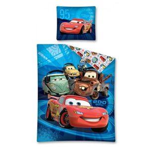 Disney Funda Nordica Cars 160x 200azul, algodón, Blue, 160x 200cm, de 2unidades