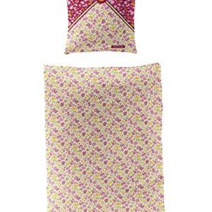 Bierbaum 2343_ 01Pferdefreunde Juego de cama de algodón, color rosa, 135x 200cm