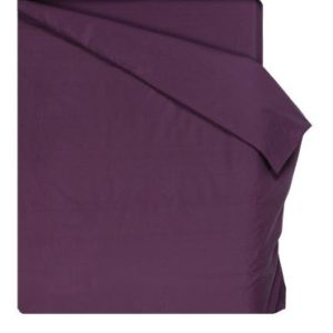 Home Royal - Funda nórdica lisa de 270 x 260 cm, para camas entre 180 y 200 cm, color violeta