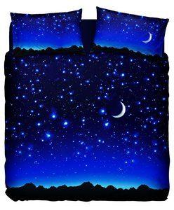Bassetti–Juego de cama de matrimonio lluvia de estrellas