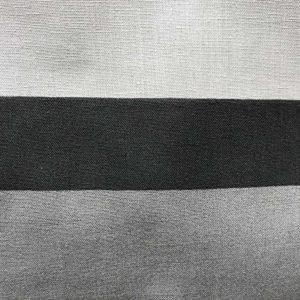 Just Contempo - Juego de funda nórdica y dos fundas de almohada, diseño de líneas, color negro, gris y blanco, polialgodón, negro/gris, funda de edredón doble King size