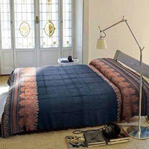Bassetti Granfoulard.- Funda nordica Ducale V3 azul para cama de 135