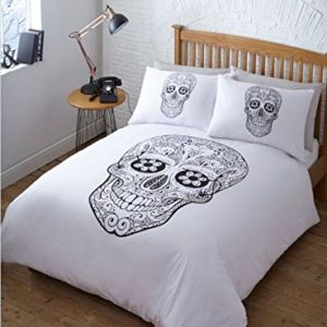 Día de los muertos cama individual
