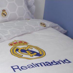 b0f93e11db9 10XDIEZ Funda Nórdica Real Madrid - Medidas colchas edredones - Cama de 90cm
