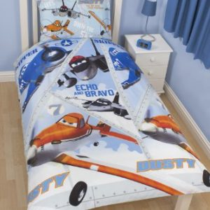 Character World Funda Nordica Reversible Aviones Disney