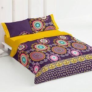 Burrito Blanco Juego de funda nórdica 334 Multi, para cama de 90 x 190/200 cm.