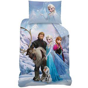 Disney Frozen 043059Sven de Cama, Algodón renforce, 140x 200+ 70x 90cm