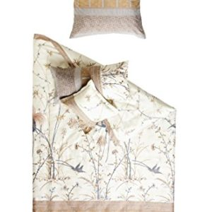 Bassetti Fong V8at cama (, 100% algodón, beige, 140x 200cm