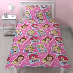 Disney Diseño de princesas valiente Juego de cama–ROTARY