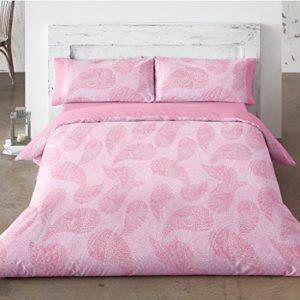 Burrito Blanco - Funda nórdica 457 Rosa de cama de 90x190/200 cm