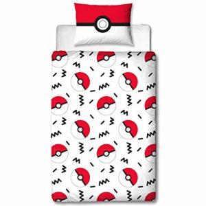 Character World Funda Nórdica Reversible Pikachu Memphis Pokémon 135 x 200 cm