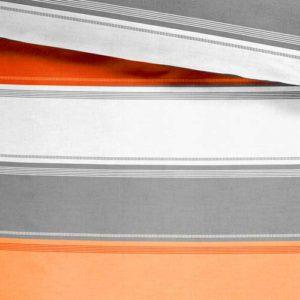 Fusion - Juego de funda nórdica (52% poliéster, 48% algodón), Multicolor (especia)
