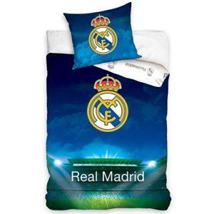 Edredón y ropa de cama, diseño de Real Madrid (140x 200+ 70x 90 cm)