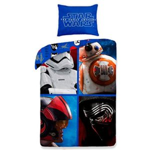 Disney Funda nordica Star Wars Episodio VII Mosaico 140cm