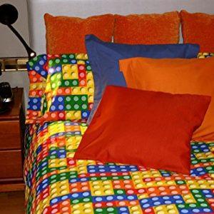 Funda nórdica estampada Colores (Piezas Construcción L, Para cama de 90x190/200 (Nórdico de 150))